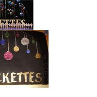 Christmas Rockettes Stage Picture Ths was a cake iea from a pictur of one of the stage sets for the Radio City Music Hall Christmas Show. Cake is Chocolate on Chocolate,...