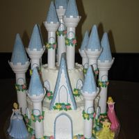 "Megan's Princess Castle   Wilton Castle Kit 6"", 10"" rounds"