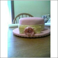 Pink_Gold.jpg fondant and gumpaste cake strawberry cake and buttercream