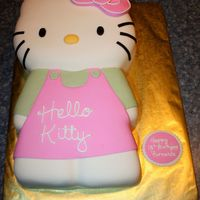 Hello Kitty Hello Kitty Cake for friend's foreign exchange student's birthday.