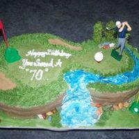 Golf Course Saw this here on CC(forget who, sorry) but thought that it was a wonderful cake and just had to make my own. Thanks for the idea!