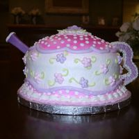 Tea Pot Cake I don't remember where I saw this cake the first time, but I fell in love with it and have been wanting to make if for some time. The...