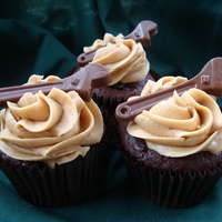 Chocolate Cupcakes With Peanut Butter Buttercream Triple Chocolate Cupcake with peanut butter buttercream icing. I have always wanted to experiment with chocolate and peanut butter. OMG,...