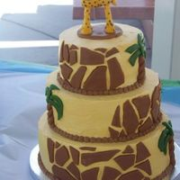 Giraffe Cake I made this for my son's first birthday last year. I loved the Jungle cake by avenje and adapted mine to be just giraffes because of...