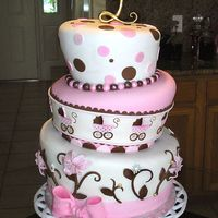 Topsy Turvy Baby Shower This is the second topsy turvy cake i have done. I was so nervous after leaving the site. I was really pleased with it though. That's...