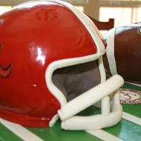 Alabama Football & Helmet   Alabama football and helmet