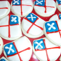 Episcopal Shield Cookies Cookies I made for a priest ordination.