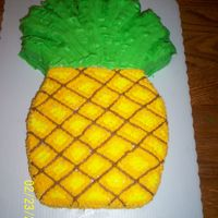 Pinapple Award Cake