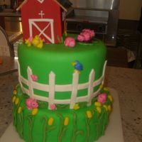 Down On The Farm I made this for my niece's birthday while at my parents farm in Wisconsin this summer.