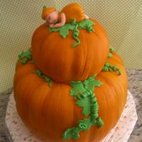 Lil' Pumpkin I made this for my friend's Baby Shower that I am hosting. This was very fun to do! Thank you to CathysCC for the tips. Thank you to...