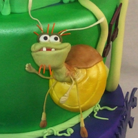 The Princess And The Frog Cake