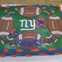 Football Cake Giants