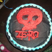 Zero Skate Board Cake   Pound cake whipped icing with air brush on top!!for my stepsons 14th birthday!!