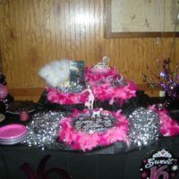 Princess Sweet 16   4 teirs! Too much to describe! It was everything the birthday girl wanted!!