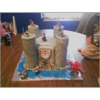 Dylans_Cake_3.jpg First attempt at a castle cake for a boy