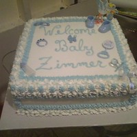 Blue Version - Baby Shower
