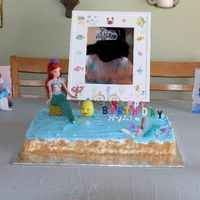 Mermaid Cake Made this for my little girls 5th b-day.