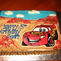 Lightning Mcqueen This was my first FBCT. It was a lot of fun. This website is just amazing for giving great ideas and techniques I would have never found...