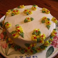 Birthday Cake I made this for my mother in law's birthday....she likes simple things.