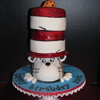 Cat In The Hat I was excited when i was asked to make this cake.I dont think its as good as the original, but I like it :) Thanks to quaint cakes for...