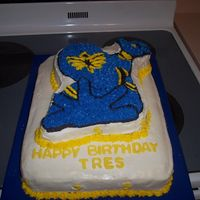 Power Ranger Cake This cake was a headache but it was a learning experience.