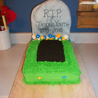 40Th Birthday Tombstone This was for a man's 40th Birthday. Thanks to lara3teach for their help!