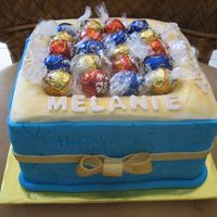 Box Of Truffles Cake My daughter loves chocolate truffles, so this cake was designed to look like a box of chocolates/candy. Used 8 inch square cake. Cut out a...