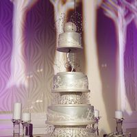"I Do Event Cake We were asked to create a cake for the ""I Do"" wedding event that took place a few weeks ago. It was a mock wedding were 100..."