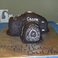 Canon Camera Made this for my father in law's surprise 60th Bday... everything is BC