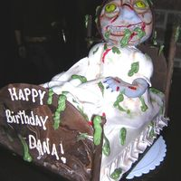 Exorcist Cake My friend owns a costume shop and loved the Ace of Caks episode of this cake. Uggh, I'm no Ace of Cakes but had my first try with...