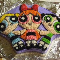 Powerpuff Girls I used the wilton powerpuff cake pan and follow the instructions
