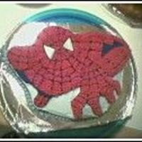 Spiderman Cake I used the Spiderman Wilton Cake Pan