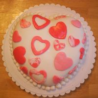 Melissa_Cakes_036.jpg   Wilton puffed heart pan. This cake was really fun and I was pleased on how it turned out