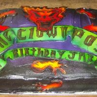 Insane Clown Posse My grandson turned 15 this week, I had planned on making him one cake and my Daughter called and said he is to old for that cake, please...