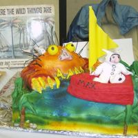 """where The Wild Things Are"" Edible Book Fesitval 2008 this is my cake from the international edible Book festival in Mystic-Groton. it is based on ""Where the wild things are"" I have..."