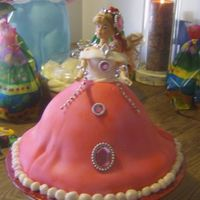 Princess Kay's Cake Having 6 granddaughters means lots of pink and lots of princess stuff. so here is the newest princess cake . we used plastic jewellery&#039...