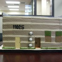 New Medical Examiner Building, Tampa This is what I call A cake inside a cake. The building is made in foam covered with fondant. Inside, as a surprise to everybody was a full...