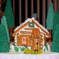 Ginger Bread Log Cabin