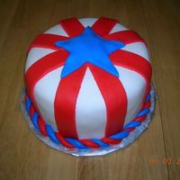 Red,white And Blue For The 4Th WASC with strawberry SMBC. Covered in MMF with MMF accents.