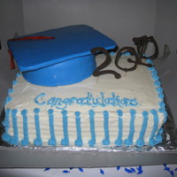 High School Graduation First graduation cake