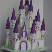 My Castle Cake Tried out Wiltons castle formsStill a lot of work. LOL...