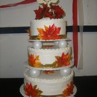 Pastor Appreciation Cake This is my first three tiered cake. It was for all members of my church. Since it is Autumm, I decided to make that way. Let me know what...