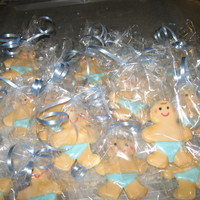 Baby Boy Shower Cookies made these for sister in laws baby shower