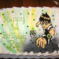 Ben Ten Cake made for my nephew