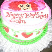 Strawberry Short Cake  FBCT I filled the name in after the pic. I had to wait for my SIL to let me know if it was to say Sammie or Sammantha, that's why the...