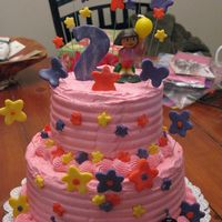 Dora Birthday Dora birthday cake for 2 year old
