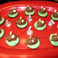 Ever Popular Christmas Mice I can't resist these at Christmas.