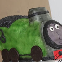 3D Train This is modeled after Percy the train from Thomas and Friends. I change his number to represent my sons age. TFL!