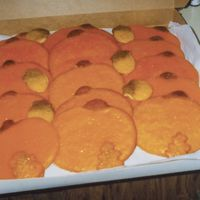 Pumpkin Cookies For Girl Scouts