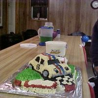 Herbie Birthday Cake This is a Herbie cake that I made for my daughter's sixth birthday.